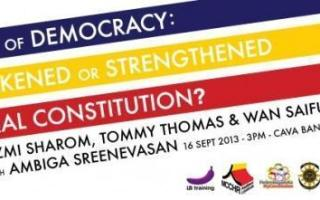 50 Years of Democracy — A Forum You Must Not Miss!