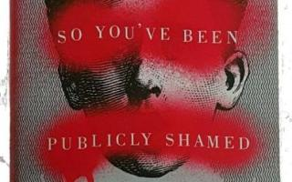 Book review: So You've Been Publicly Shamed by Jon Ronson