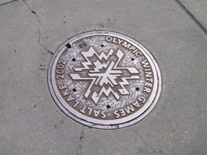 Olympic Manhole Cover