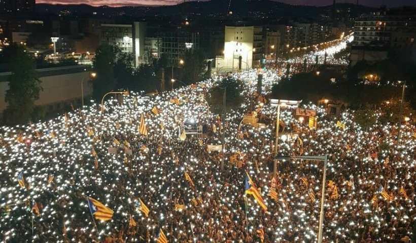 """Una delle tante manifestazioni per liberazione dei """"prigionieri politici"""""""