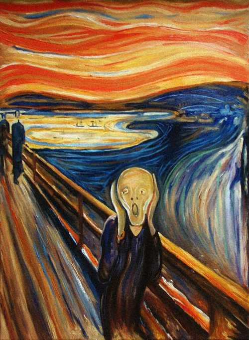 E. Munch, L'Urlo, 1893 (abbiamo suicidato Noa)