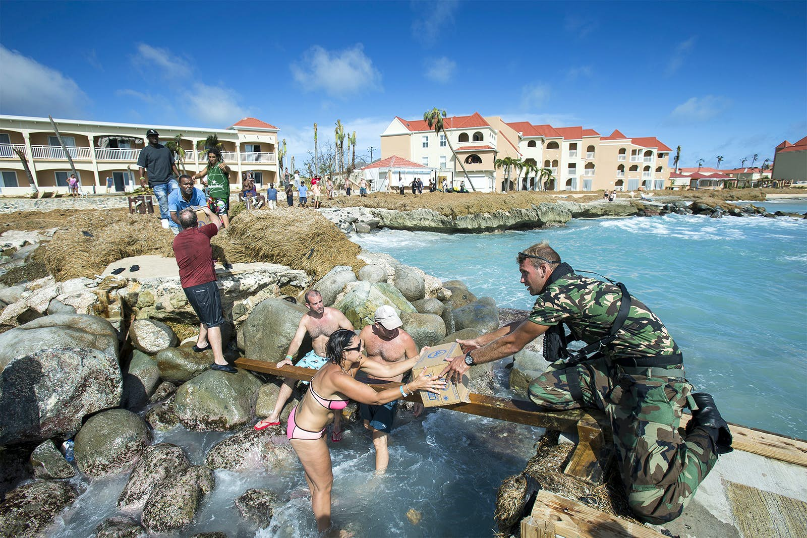 caribbean hurricane relief after