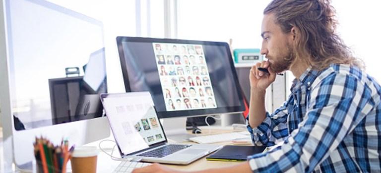 Layout und Digitalisierung