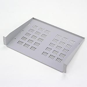 EIA用スリット付棚板(2U・ライトグレー)商品画像