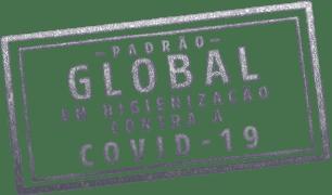 Padrão GLOBAL em higienização contra a COVID-19