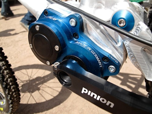 pinion p 1.18 gear box mountain bike
