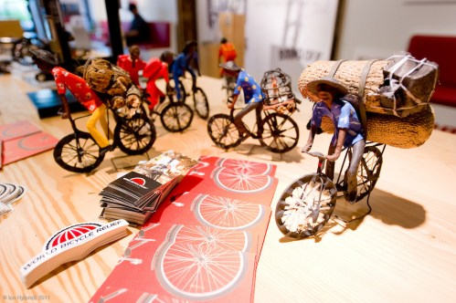 SRAM popup store world bicycle relief