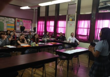 Compas presents at Olney Aspira