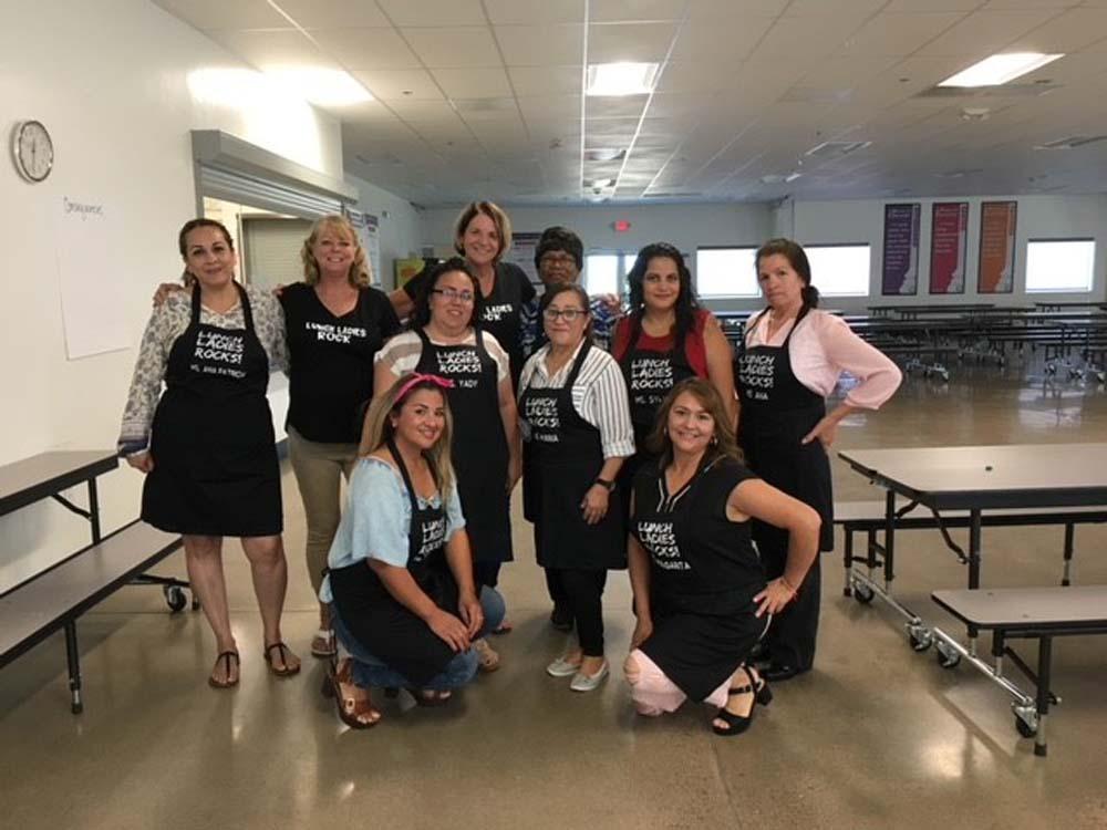 LPA Lunch ladies