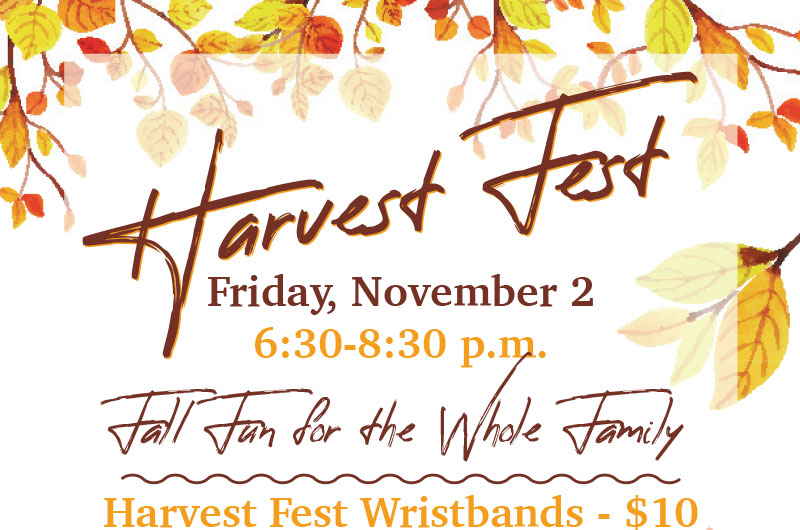 You're Invited to Harvest Fest!
