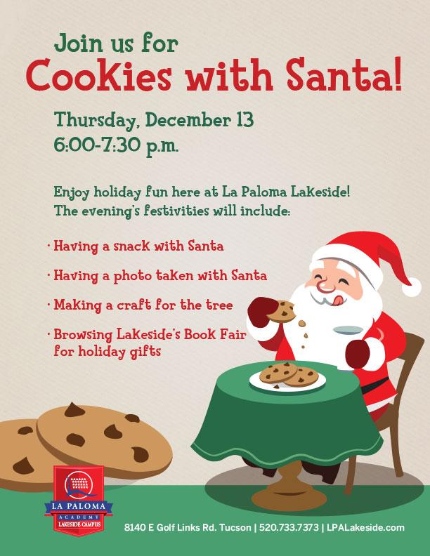 Cookies with Santa La Paloma Lakeside