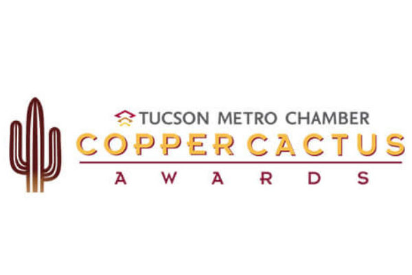 Copper cactus award image