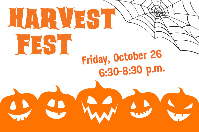Don't Miss Harvest Fest!