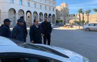 النائب أحمد معيتيق يتفقد الدوريات الأمنية في شوارع طرابلس