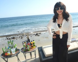 photo of Cheryl Burke at Malibu Beach House