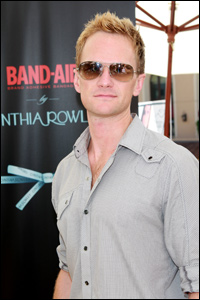 photo of Neil Patrick Harris at Band-Aid event