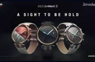 ASUS ZenWatch 3發表!圓形、三按鍵、預載Android Wear 2.0