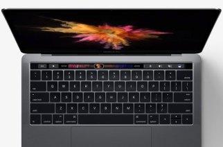 蘋果新MacBook Pro發表:有很炫的Touch Bar觸控小螢幕和超大觸控板、但傳輸埠最多只有四個USB-C