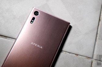 Sony Xperia XZ 山茶花粉新色