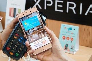 攜手臺灣行動支付公司,28款Sony Xperia手機即日開放HCE手機刷卡功能