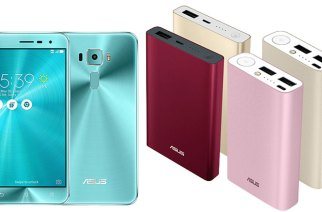 華碩推出ZenFone 3湖水藍限量新色,以及ASUS ZenPower Duo / Pocket兩款行動電源