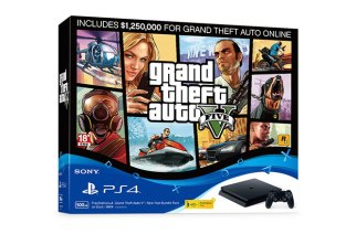 PS4俠盜獵車手GTA 5新年享樂同捆組1/20上市