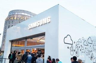 Samsung Pay展示間於巴塞隆納市中心開張,路過進去體驗一下