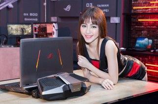 18吋GTX 1080 SLI雙顯卡暴力電競筆電ROG GX800在台推出