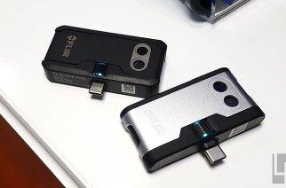 第三代FLIR One與One Pro手機用熱像儀動手玩:接頭改善與可見光解析度大提升