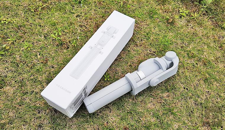 小米支架式自拍杆開箱動手玩:自拍棒、藍牙遙控、三腳架 3 in 1
