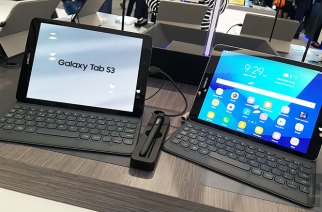 三星雙平台平板新品:Galaxy Tab S3、Galaxy Book動手玩