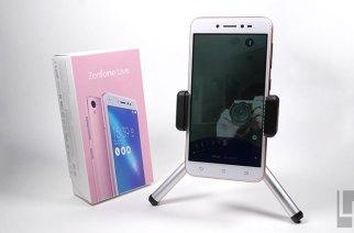 超平價直播神器:ASUS ZenFone Live開箱、美顏直播實測