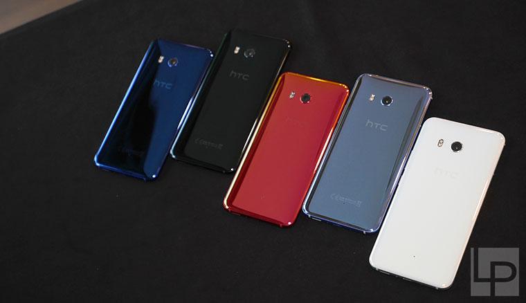 HTC U11 全色系圖賞:延續水樣玻璃風格、大玩光彩與影的變化