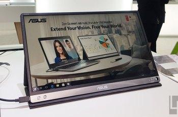 華碩開賣15.6吋輕薄USB-C行動外接螢幕ZenScreen MB16AC