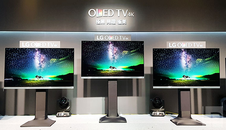 2017新款LG OLED TV登台!全面支援三規Active HDR與Dolby Atmos環繞音效