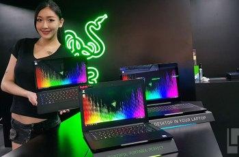 雷蛇展示新一代Razer Blade雷蛇靈刃系列電競筆電,並交由精技獨代