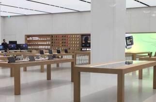 台灣首間Apple Store直營店搶先看!目前紅紙已撤、預備7/1正式開幕