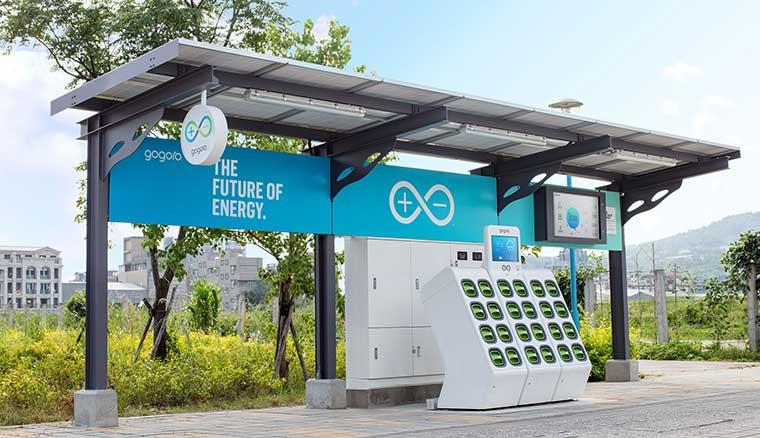 首座Gogoro太陽能換電站於新北八里啟用