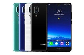 Sharp AQUOS S2「全面屏」手機登場,台灣8/15發表 @LPComment 科技生活雜談