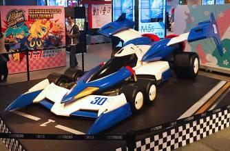 閃電霹靂車來啦!1:1實車大超級阿斯拉01模型進駐三創一樓廣場