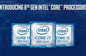 首度導入10nm製程,Intel正式公布第8代Core i系列處理器