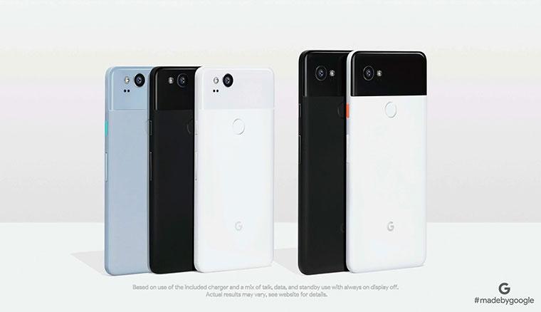 Google Pixel 2 / Pixel 2 XL正式發表:支援握壓操作,DxO 98分超越iPhone 8 Plus與Note 8名列第一