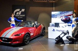 明開賣,跑車浪漫旅競速推出139.8萬超級同捆組,包括一台MAZDA MX-5魂動紅跑車 @LPComment 科技生活雜談
