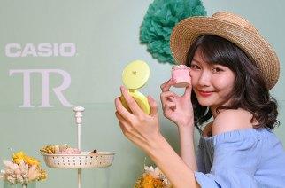 CASIO新自拍神器TR mini聚光蜜粉機全球首賣,售價15490元 @LPComment 科技生活雜談