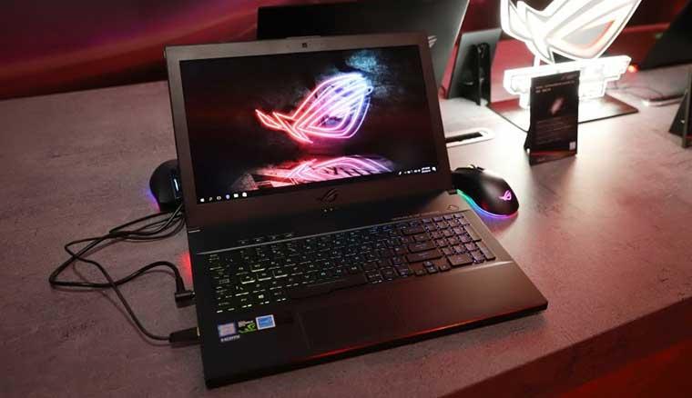 華碩ROG Zephyrus M、新電競桌機同步亮相 新款27吋4K HDR電競螢幕6月中登場