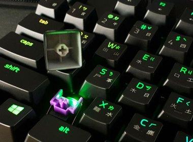 首度搭載光觸發機械紫軸!Razer Huntsman雷蛇獵魂光蛛遊戲鍵盤開箱 @LPComment 科技生活雜談