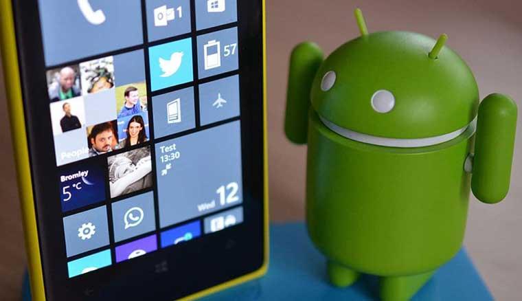 消息稱微軟或將推出自有品牌的Android手機
