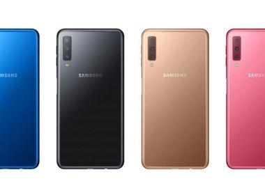 三星發表2018全新Galaxy A7,配備前1後3共四組相機鏡頭 @LPComment 科技生活雜談