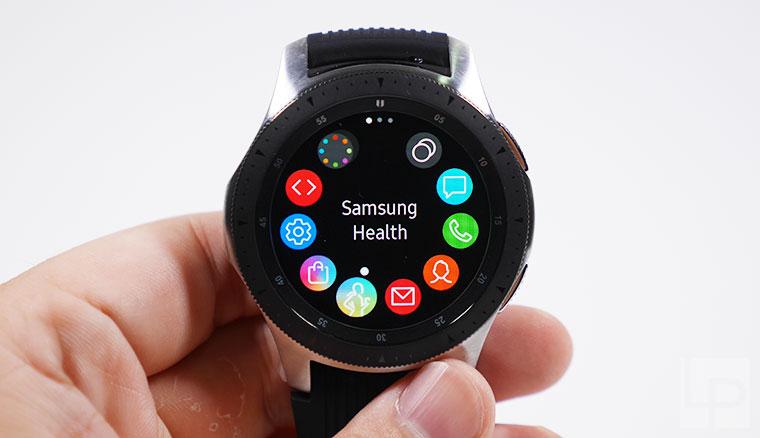 三星Galaxy Watch簡單開箱動手玩!比較Gear Sport、Gear S3的差異