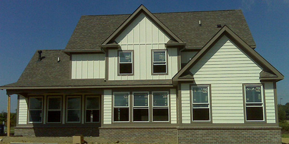 Executive Homes  SmartSide Case Study  LP Building Products